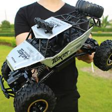 DE RC Monster Truck Metall Ferngesteuert Auto Rock Geländewagen 4WD Offroad Car