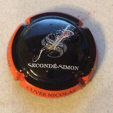 Capsule Champagne SECONDE SIMON (10. contour orange)