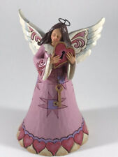 Jim Shore You Hold The Key To My Heart Angel Figurine 4037647