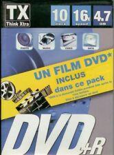 100 DVD+R VIERGE THINK XTRA 4.7 GO 16X DANS BOITIER SLIM+film IRON MAN