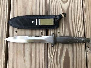 VTG RARE Parker Brothers Japan Copy of Gerber MK II Combat Fighting Knife Dagger
