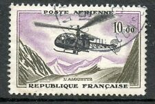 STAMP / TIMBRE FRANCE OBLITERE POSTE AERIENNE N° 41 ALOUETTE COTE 3 €