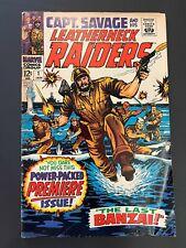 Captain Savage and His Leatherneck Raiders #1 (Marvel, 1968) VG+/Fine