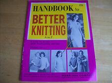 Vintage Merribee Co. Handbook For Better Knitting A To Z