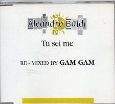 ALEANDRO BALDI  CD SINGLE Tu sei me PROMO 1 TRACCIA Remix GAM GAM