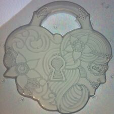 Flexible Resin Mold Heart Shaped Lock Mould Sugar Skull Flower Resin Supplies