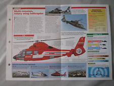 Aircraft of the World Card 40 , Group 3 - Eurocopter AS 565 Dauphine/Panther