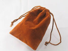 50 PCS COPPER 4x5 Jewelry Pouches Velour Velvet Gift Bags