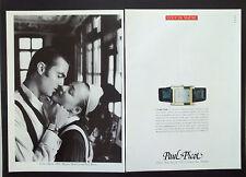 F126 - Advertising Pubblicità - 1992 - PAUL PICOT OROLOGIO CARRE' GALBE'
