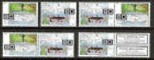 Nederland alle combinaties  uit  postzegelboekje 63  postfris/MNH