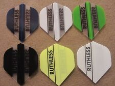 5 Pack Ruthless Standard Dart Flights Choose Your Color w/ FREE Shipping