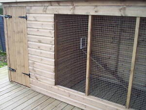 Cattery / Cat Kennel and Run  -  From £400