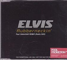 Elvis Presley-Rubbernecking Remix Promo cd single