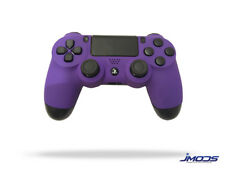 PS4 Custom Wireless Controller (Soft Touch Purple)