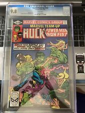 Marvel Team-Up 105 CGC 9.8 5/81 Hulk & Power Man & Iron Fist Very Rare  {CGCB2}