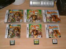 MADAGASCAR 1 + 2 ESCAPE TO AFRICA + KARTZ ...... DS / 2DS / 3DS / XL GAMES