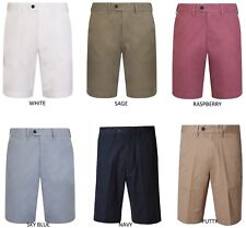 EX M&S 7758 100% COTTON MEN'S SHORTS ADJUSTABLE WAISTBAND 7 COLOURS
