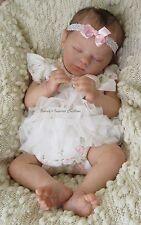 "GORGEOUS REBORN NEWBORN TWIN BABY GIRL ""EVELYN"" BY DENISE PRATT"