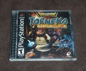 Torneko: The Last Hope (Sony PlayStation 1, 2000 PS1)-Complete
