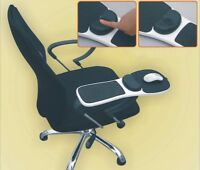 US Home Office Computer Arm Rest Chair Armrest Mouse White Pad Wrist Support Mat