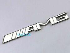 3D Decal Car Sticker 3M Metal Chrome Badge AMG Logo emblem uR39