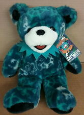 "Rare 14"" Liquid Blue Grateful Teddy Bear Blue Plush Lost Sailo