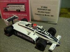 1/43 Brabham bt-49c nelson piquet champion du monde 1981 #5 v1830