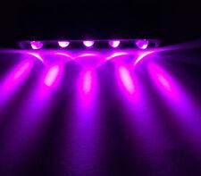 12V PURPLE 5 LED light pod for step lazer home motorcycle car boat lighting