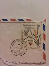 Falkland ISLANDS Dependencies TIMBRO, USATO, 1985. GRAN BRETAGNA. RE Edoardo PUNTO