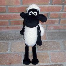 "20"" NICI Shaun Fluffy Cream Sheep Lamb Plush Stuffed Animal Lovey Toy"