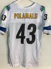 bb3dea437 Reebok Women s Jersey Pittsburgh Steelers Troy Polamalu WHT Superbowl 43 Sz  XL