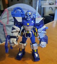 100% Complete Power Rangers Lost Galaxy Conquering Blue Ranger & Armor 1998