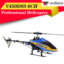 Walkera V450D03 6-Axis Stabilization System 6CH Single Blade Helicopter+US Plug