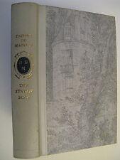 Der Sündenbock - Daphne du Maurier Hardcover Lederrücken Farbprägung Gold auf