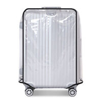 """New Clear PVC Transparent Travel Outdoor Luggage Protector Suitcase Cover 20-30"""""""