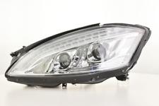 Fari allo xeno daylight LED DRL Mercedes-Benz classe S W221 anno 05-09 cromo