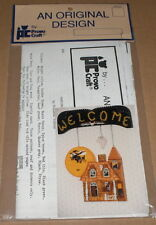 """Halloween """"Hanging Haunted House"""" Tole Painting Pattern Pack NIP"""