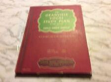 The granville Vocal Study Plan Work Book Charles Granville Hardback Book