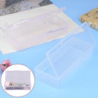 Transparent Nail Supplies Brush Kit Storage Box Container Organizer Case