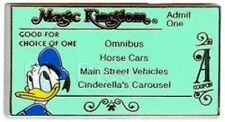 Disney Pin: WDW Cast Lanyard Series #3 Magic Kingdom Ticket (A/Donald Duck)