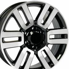 20x7 Wheel Fits Toyota 4Runner Style Blk Machd Tacoma Tundra 69561 Rim W1X