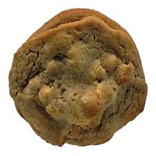 Macadamia White Choc Chip 6 Large Cookies 4 inch by 1/2 thick