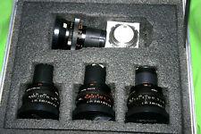 Zeiss  Distagon T* Cine Lens Arri Bayonet, 4-lenses + PL-Adapter