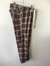 Abercrombie & Fitch Flannel Pajama Lounge Pants Plaid Check Men's Small
