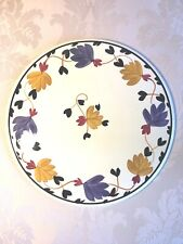 "Societe Ceramique Maestrich Holland 12"" Platter Plate SQM16 Pattern"