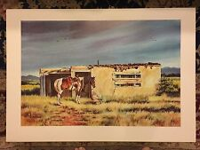 Joe Hobbs Limited Edition Lithograph Western Art Print Artist Signed/Numbered