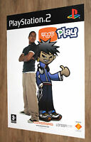 EyeToy Play very rare Promo Poster 84x59.5cm Playstation 2