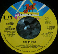 """*<* ELECTRIC LIGHT ORCHESTRA's 1977 HIT """"TURN TO STONE"""": CLEAN M- (UNPLAYED?) 45"""