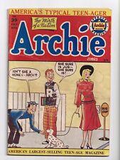 Archie Comics #39 Bill Vigoda Cover and Art Golden Age Archie 1949 VG-