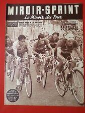 20/07/53 miroir sprint n°371 TOUR DE FRANCE 1953 ETAPES  BOBET BARTALI LAZARIDES